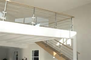 escalier bois et verre escalier design rambarde bois et verre s 233 lection artisanale