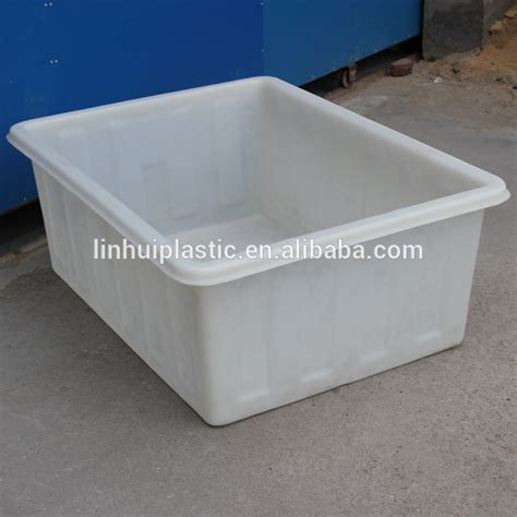 buy plastic tubs 380 litres cheap price square plastic used laundry tub