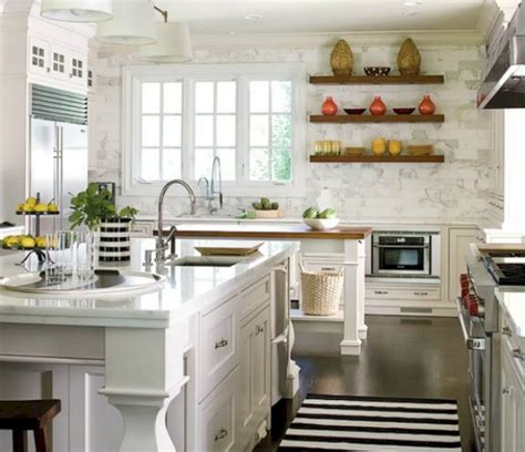 White French Country Kitchen (white French Country Kitchen