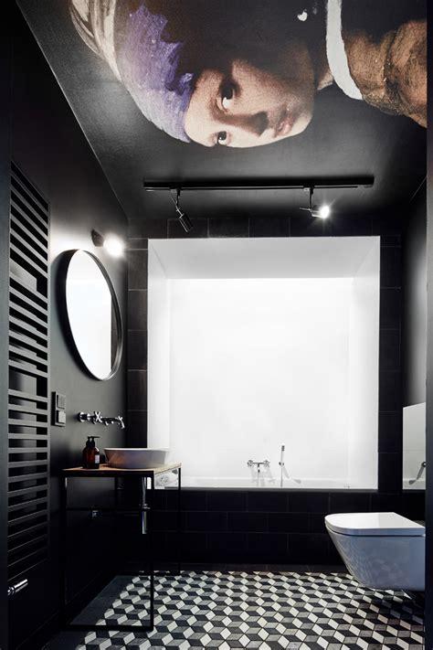 Stilvolle Und Mutige Badgestaltung In Schwarz by Stilvolle Und Mutige Badgestaltung In Schwarz Freshouse