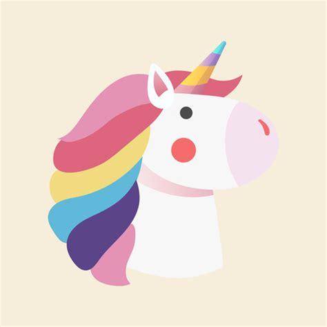 vettore magico dell illustrazione dell unicorno dell arcobaleno scaricare vettori gratis