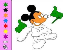 Mickey Mouse Boyama Oyunu Resimlere Göre Ara Red