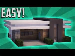 Small Modern House Tutorial Minecraft