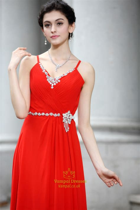 long elegant red prom dressesred evening gowns