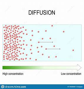 Diffusion Is Movement Of Molecules And Atoms From A Region