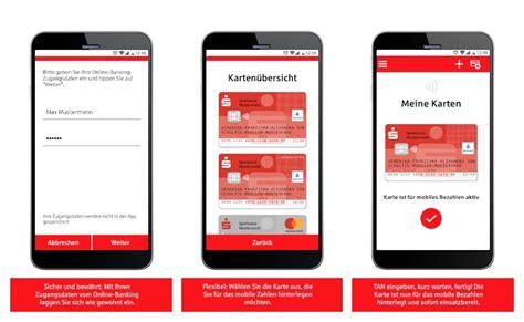 sparkassen starten neue app mobiles bezahlen mit