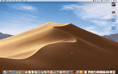Mojave Macos Desktop Welcome Cluttered Less Additions