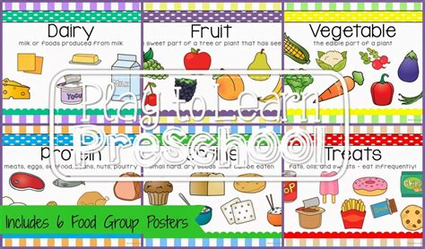 preschoolers nutrition nutrition unit play to learn 257