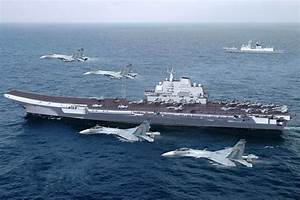 CGI Of Chinese Liaoning CV16 (Ex-Varyag) Aircraft Carrier ...