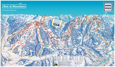 bergfex pistenplan flachau snow space salzburg ski
