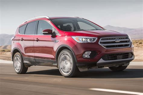 Ford Escape by 2017 Ford Escape 2 0 Ecoboost Awd Test Review