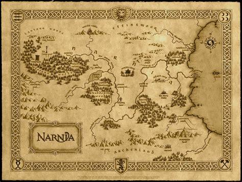 wallpaper mappa de le cronache  narnia il leone la