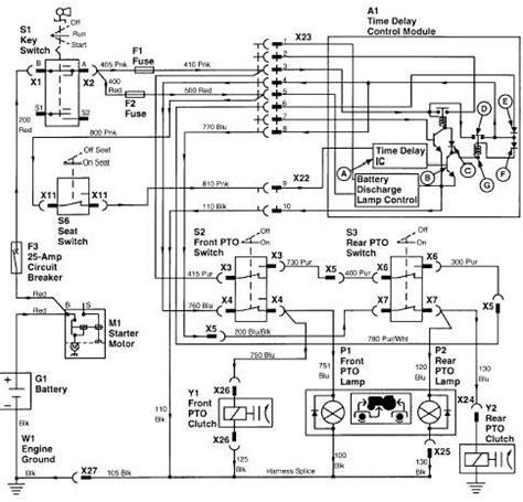 Deere 130 Wiring Diagram by Deere L130 Ignition Wiring Diagram Wiring Diagram