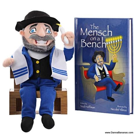 mench on the bench the mensch on a bench