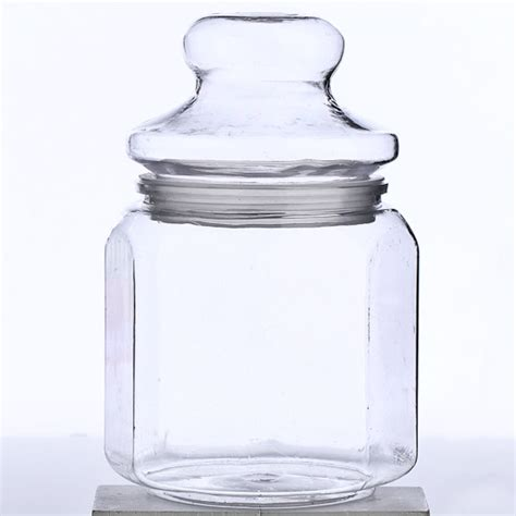 clear canisters kitchen plastic canisters 32oz clear plastic jars with black