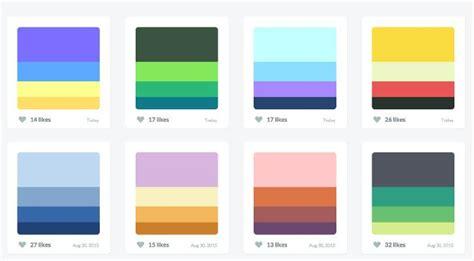 The Ultimate List of Online Color Palette Generators for