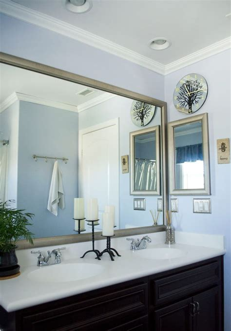Bathroom Mirror Makeover by 1000 Images About Mirrormate Diy Mirror Makeovers By