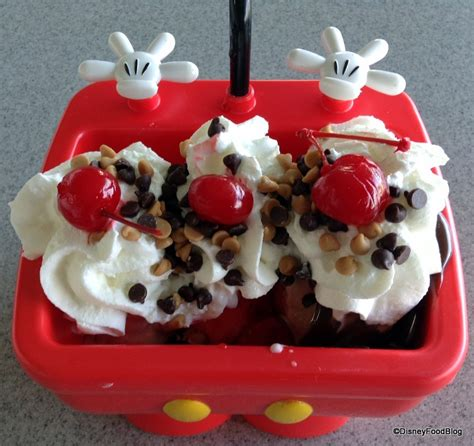 kitchen sink disneyland new mickey kitchen sink sundae aka the mickey