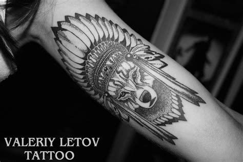 native american wolf tattoo venice tattoo art designs