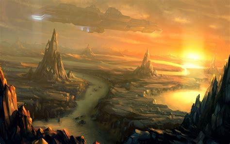 Digital Painting Wallpaper by Spaceship Wallpapers Wallpaper Cave