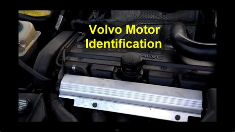 engine serial number location  block volvo