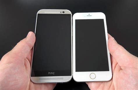 htc one m8 vs iphone 6 iphone 6 vs htc one m8 le comparatif meilleur mobile