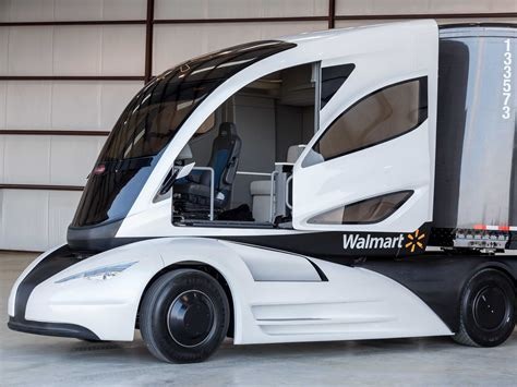 wal mart     delivery truck   future