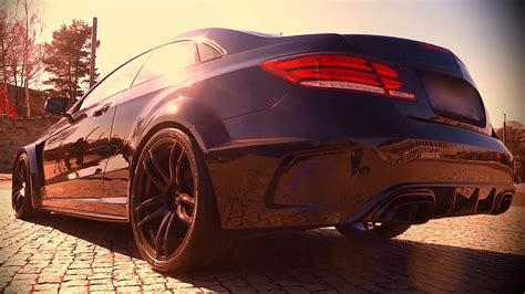 mercedes  amg  class coupe special sound tuning