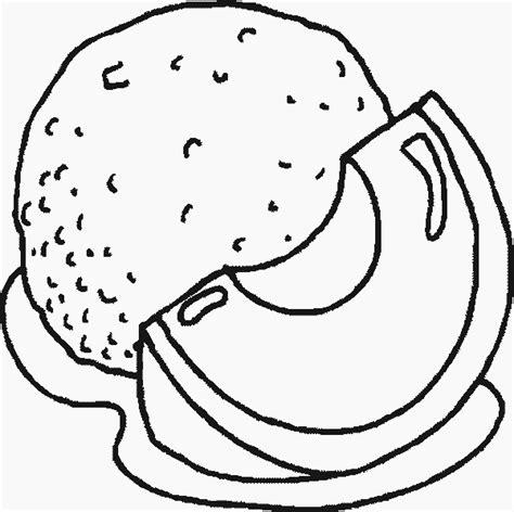Desenho de Fatia de melão para colorir Tudodesenhos