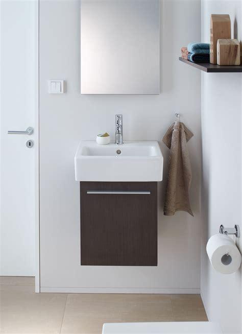 mobili bagno duravit mobili lavabo piccoli per risparmiare centimetri preziosi