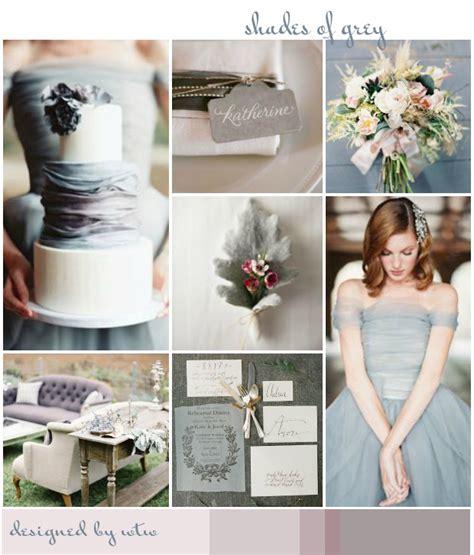 Shades Of Grey: Wedding Inspiration Colour Ideas