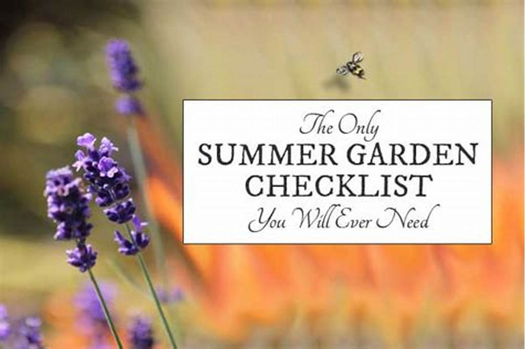 #The #Only #Summer #Garden #Checklist #You'Ll #Ever #Need