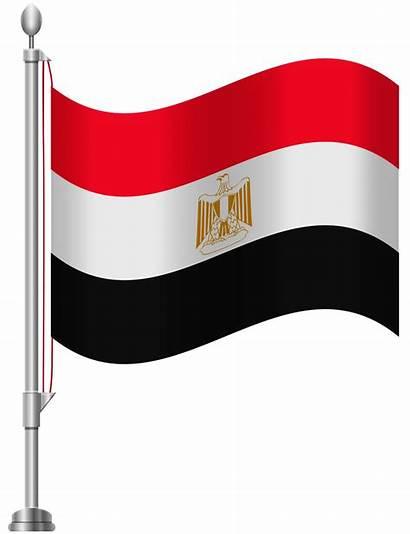 Flag Egypt Clip Clipart Syria Egyptian 1830