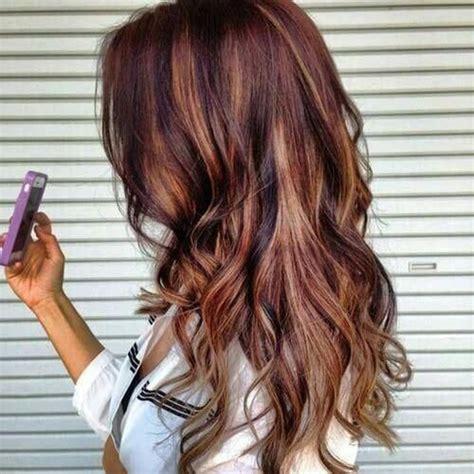 braune haare mit roten strähnen 50 stilvolle vorschl 228 ge f 252 r braune haare mit blonden str 228 hnen