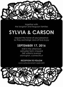 dark and debonair invitations for gothic weddings With wedding paper divas laser cut invitations