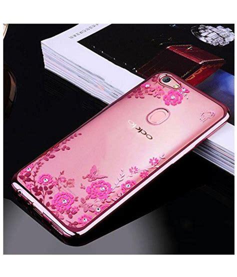 oppo  plain cases fonovo soft silicone flexible rose