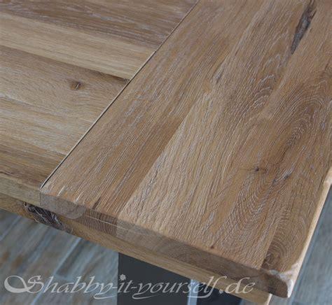 einen rustikalen loft tisch selber bauen  gehts