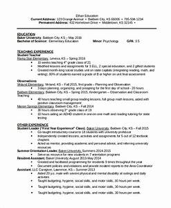 8 word resume samples sample templates With education resume template word