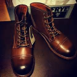Cap Toe Dress Boots Men