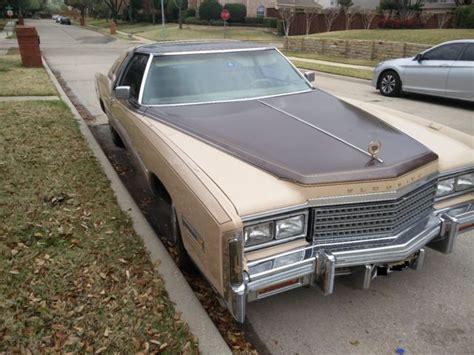 1978 Cadillac Eldorado Custom Biarritz Classic For Sale
