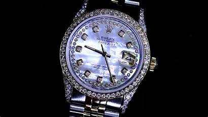 Mother Rolex Pearl Diamond Datejust Dial Row