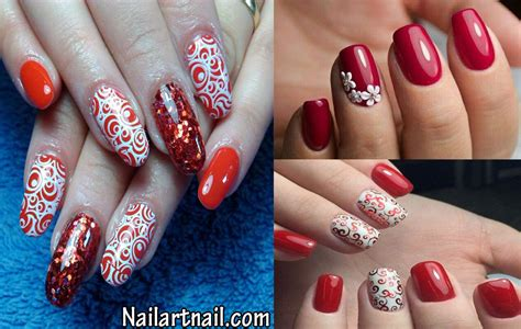 Nail Arts Latest Designs : 8 Latest Red Nail Art Designs 2017