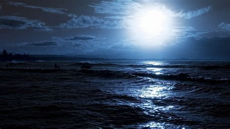 dark sea  night wallpapers  hd iphone wallpapers
