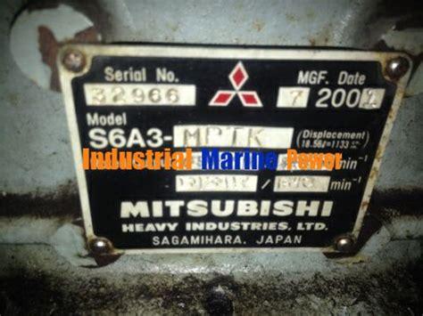 Marin Mitsubishi by Mitsubishi S6a3 Marine