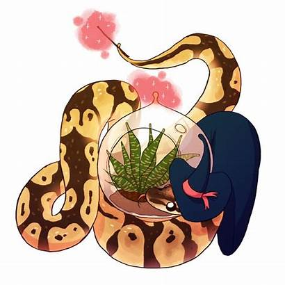 Python Ball Snake Wizard Drawing Drawings Anastasia