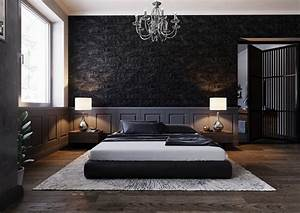 51, beautiful, black, bedrooms, with, images, , tips, , u0026, accessories, to, help, you, design, yours