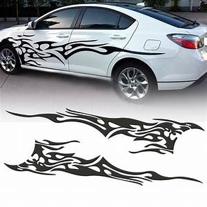 2pcs 833939 x 193939 car decal vinyl graphics side stickers With lettering decals for vehicles