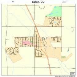 Eaton Colorado Street Map
