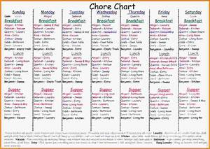 chore chart for adultschore chartjpg letter template word With chore chart for adults templates