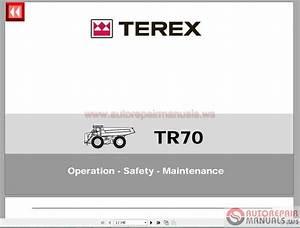 Terex Tr70 T789 Operator Manual